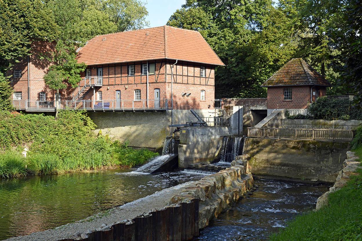 Großes Emswehr Telgte – Altstadt von Telgte Runde von Am Haus Borg